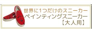ペインティングスニーカー【おとな用】