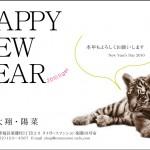 2010年 年賀状「タイガー」